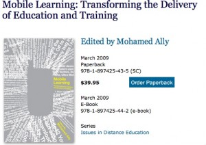 New Open Access M-Learning Book
