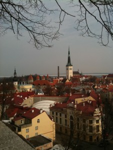 Tallinn, Estonia old twon